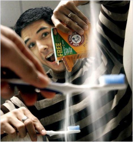 zuiveringszout tanden poetsen